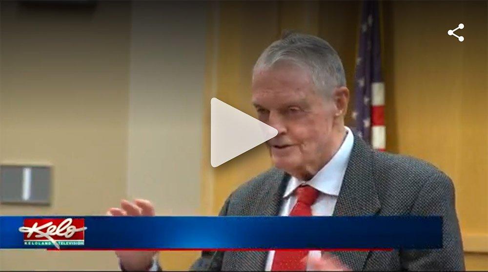 Keloland Story on Tom Osborne, Sioux Falls School District & TeamMates