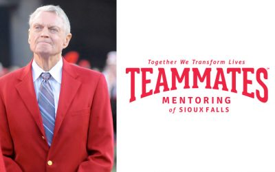 SFSD Welcomes Tom Osborne to Kickoff TeamMates Mentoring of Sioux Falls